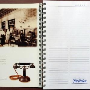 Agenda para a empresa Telefonica