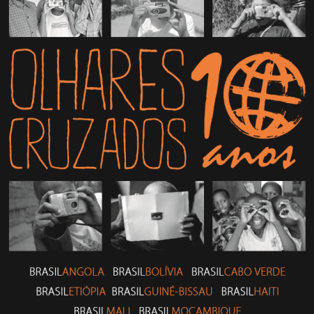 Confira o folder completo dos 10 Anos do projeto Olhares Cruzados
